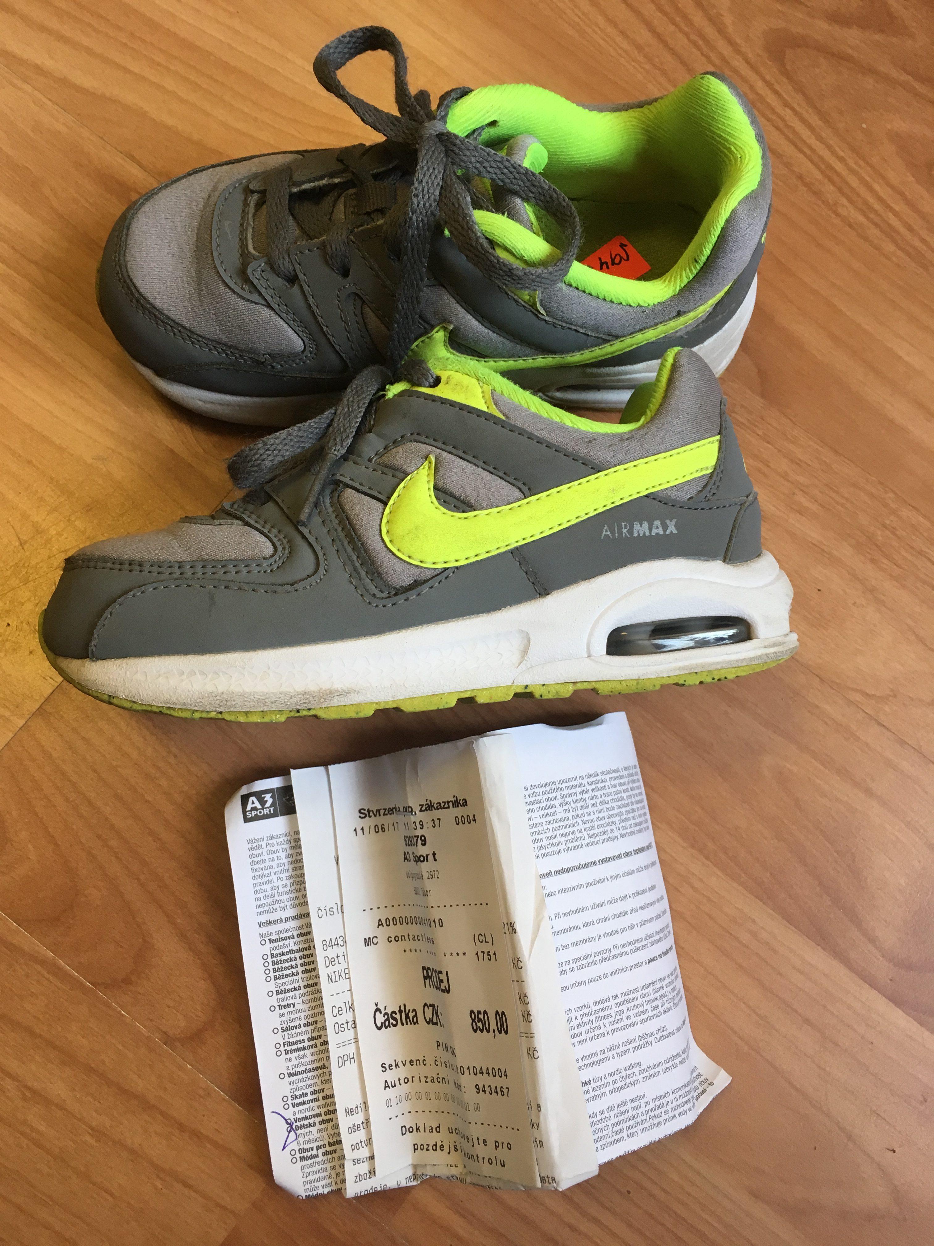 Botasky Nike Airmax - Velký dětský bazar 24bda9700fb