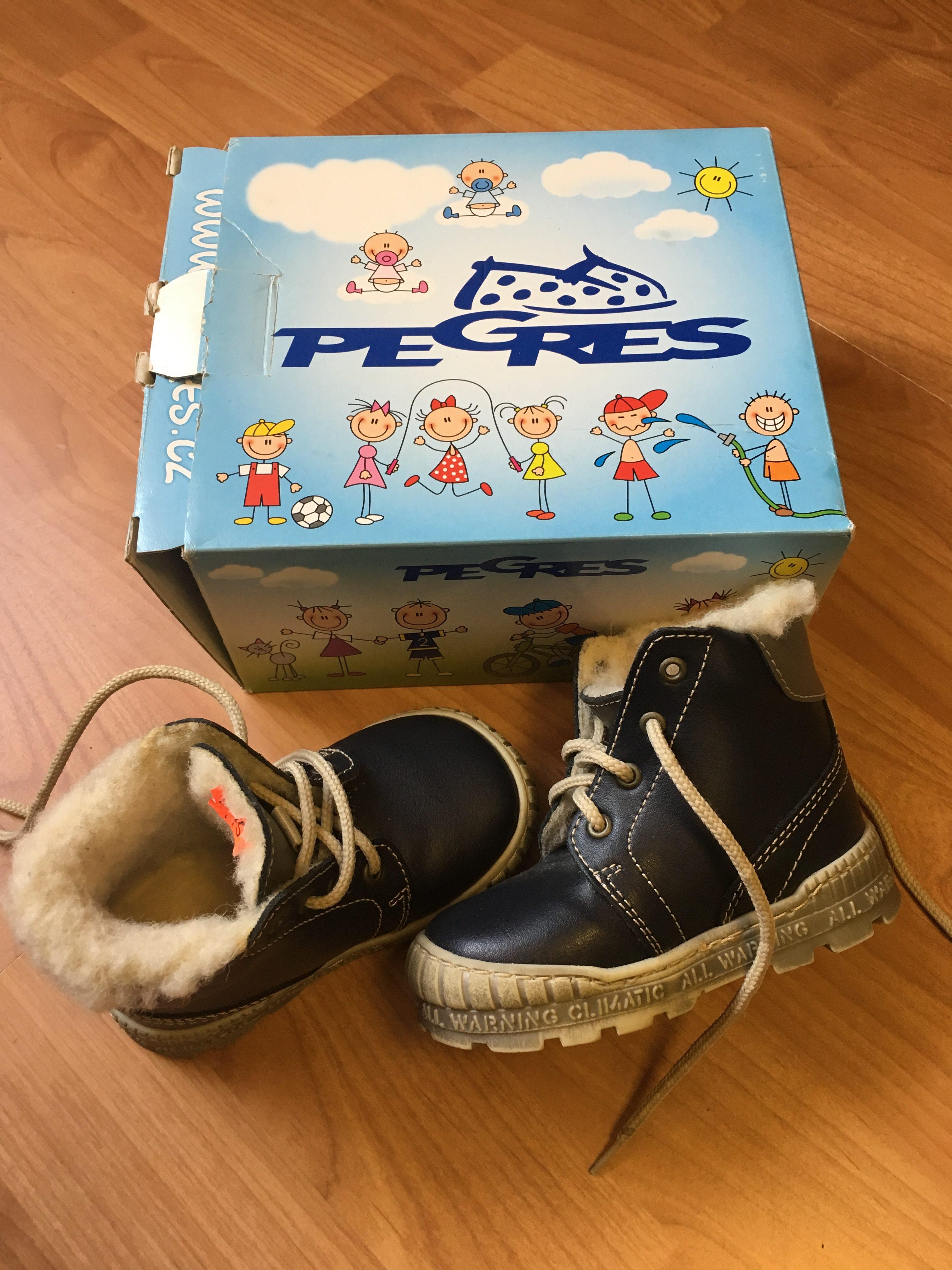 Zimní boty Pegres - Velký dětský bazar f930abfc7c