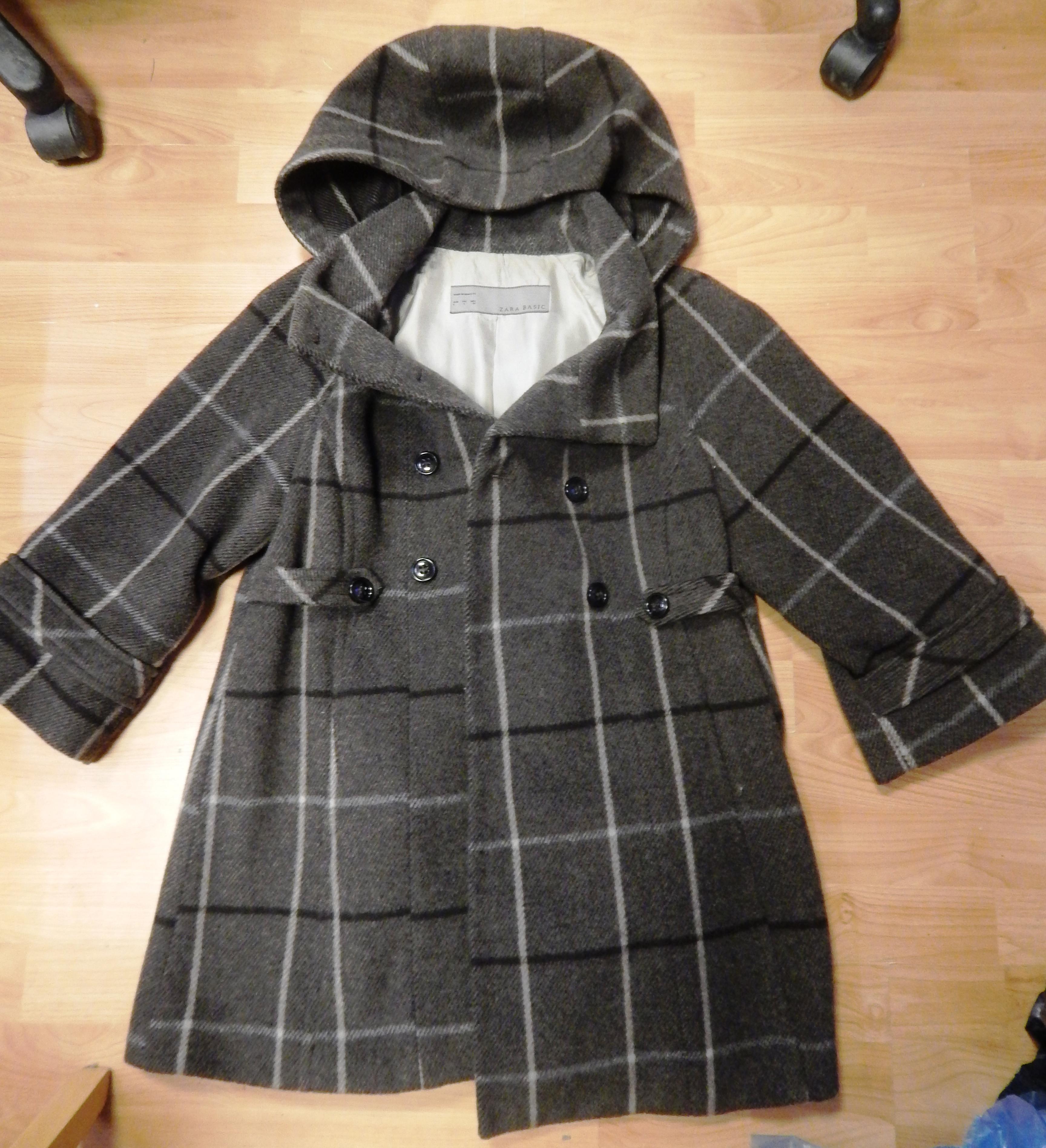 bc03ca01ce Těhotenský kabát ZARA - Velký dětský bazar