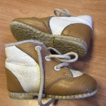 Kotníčkové kožené boty