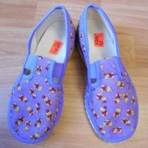 Bačkorky fialové