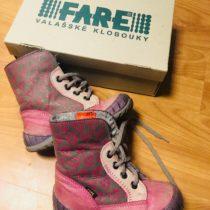 Kotníkové boty Fare