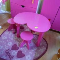 Set stolek + 2x stolička