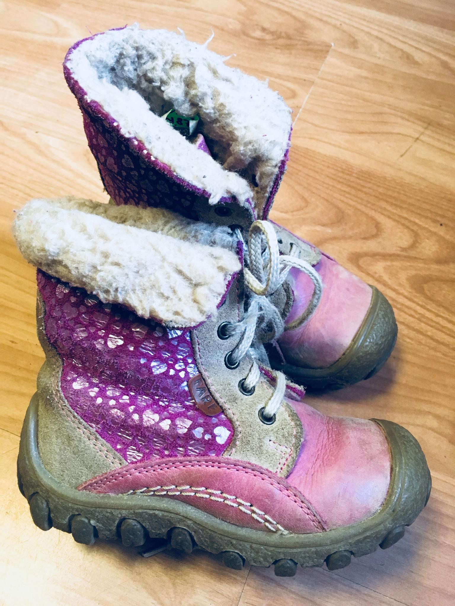 Zimní kotníčkové boty - Velký dětský bazar c01efa89ba