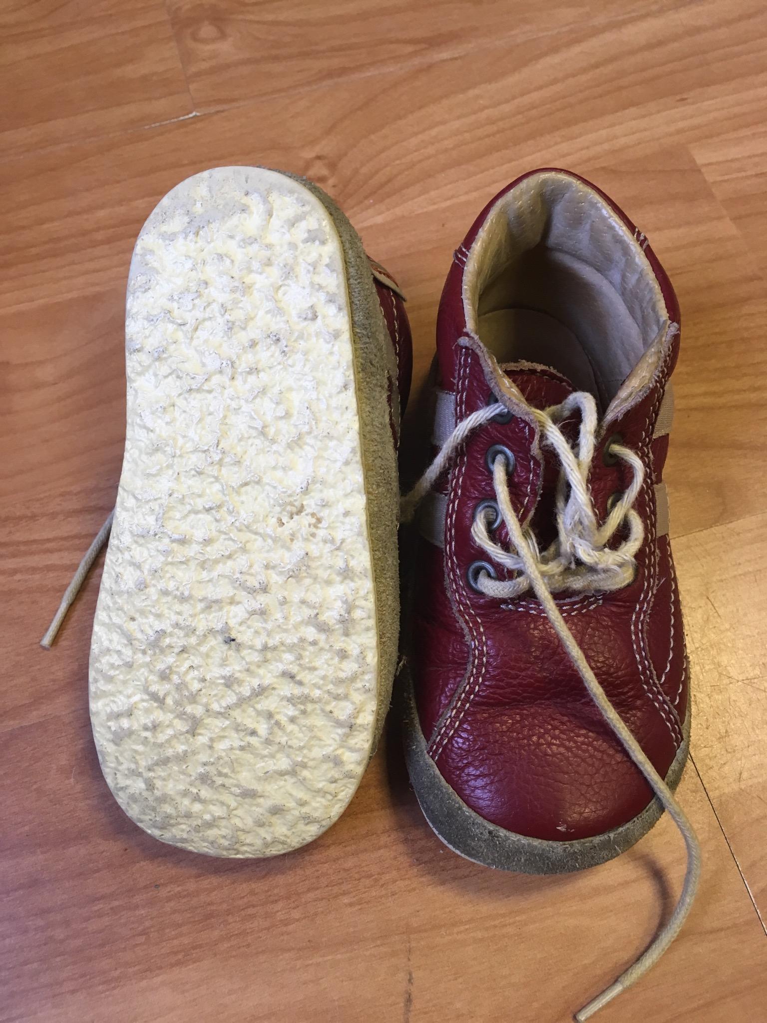 Kožené boty Pegres - Velký dětský bazar 53ec210e66