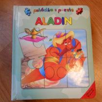 Kniha puzzle Aladin