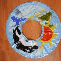 Nafukovací plovací kruh