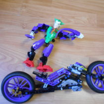 Lego Hero Motorka