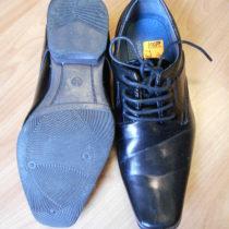 Společenské lakované boty Toplay