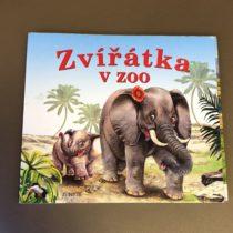 Kniha Zvířátka vzoo
