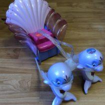 Pohádkový kočár sdelfíny