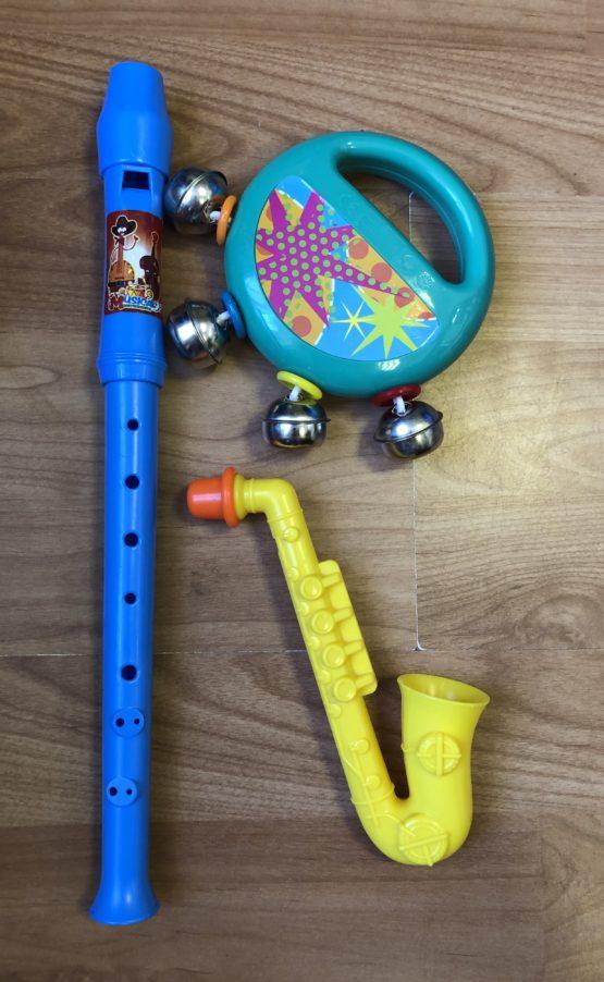 Hudební nastroje set