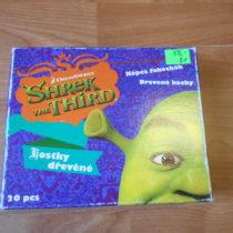 Dřevěné kostky Shrek