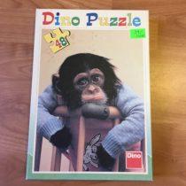 Dino Puzzle Opička