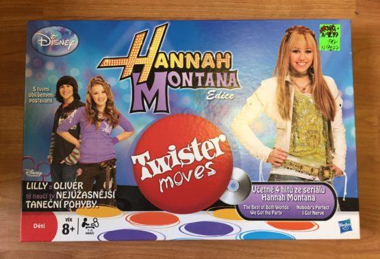 Hra Hannah Montana-twister moves