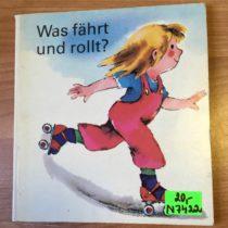 Retro kniha Was fährt und rollt?