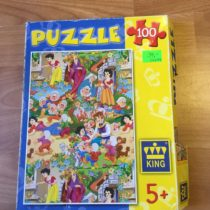 Puzzle Sněhurka a 7 trpaslíků