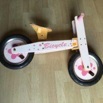 Dřevěné odrážedlo Bicycle
