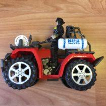 Hasičský Jeep + hasič