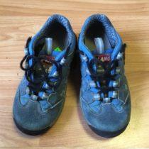 Kotníčkové, kožené boty Vibram