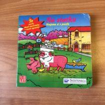 Kniha + puzzle Na statku