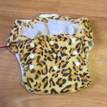 Sweet Monkey kalhotky na pleny na suchý zip – zvířecí vzor