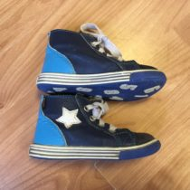 Kožené, kotníčkové boty Fare