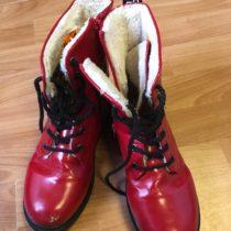 Vysoké boty Venice skožíškem