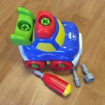 Šroubovací auto Build&play