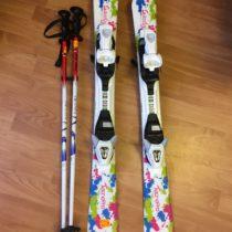 Set lyže + hůlky Tecno Pro