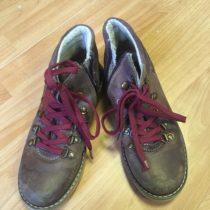 Kožené, kotníčkové boty Weinbrenner