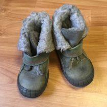 Kotníčkové vyteplené boty Fare