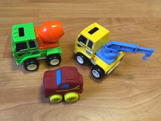 Set stavebních aut