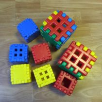 Stavebnice mřížky/kostky