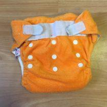 Sweet Monkey kalhotky na pleny na suchý zip, oranžové
