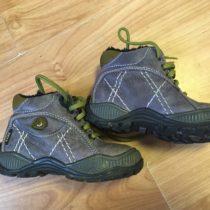 Kotníčkové, vyteplené boty Fare