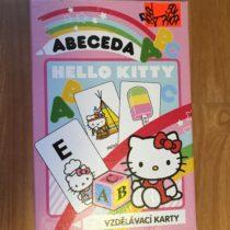 Karty – abeceda Hello Kitty