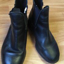 Kotníčkové boty-perka