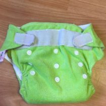 Sweet Monkey kalhotky na pleny na suchý zip – zelené