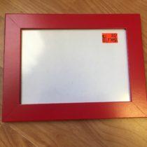 Rámeček IKEA červený