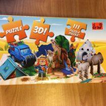3D puzzle Brumík