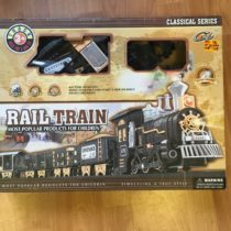 Železniční set / lokomotiva + vagón