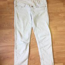 Těhotenské manžestrové kalhoty H&M
