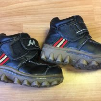 Kotníčkové, vyteplené boty