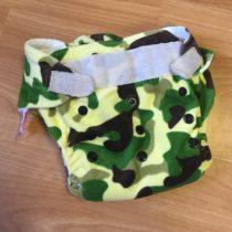 Sweet Monkey kalhotky na pleny na suchý zip – maskáč vzor