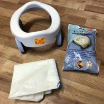 Cestovní nočník / skládací redukce na WC