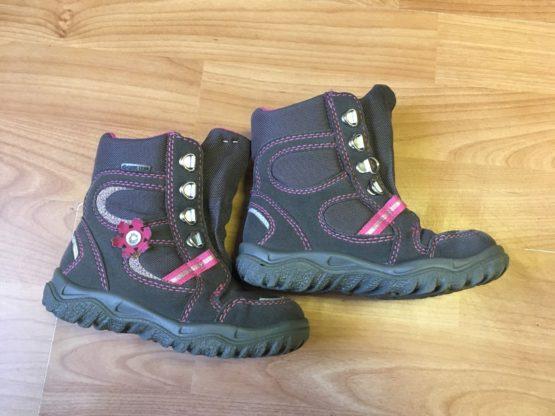 Zimní vyteplené boty
