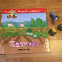 Dětská kniha ze série Hraj si a uč se – Na polích a lukách – Zahrada