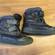 Kožené zimní boty Bubble Gummers