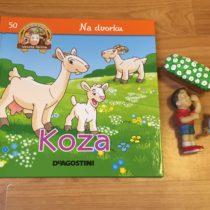 Dětská kniha ze série Hraj si a uč se – Na dvorku – Koza